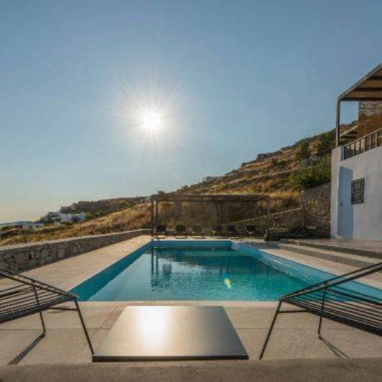 luxury beach villas mykonos