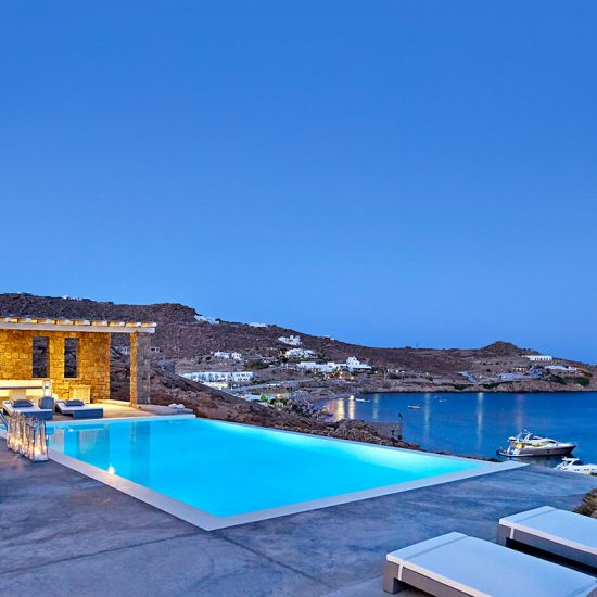 mykonos villas private pools