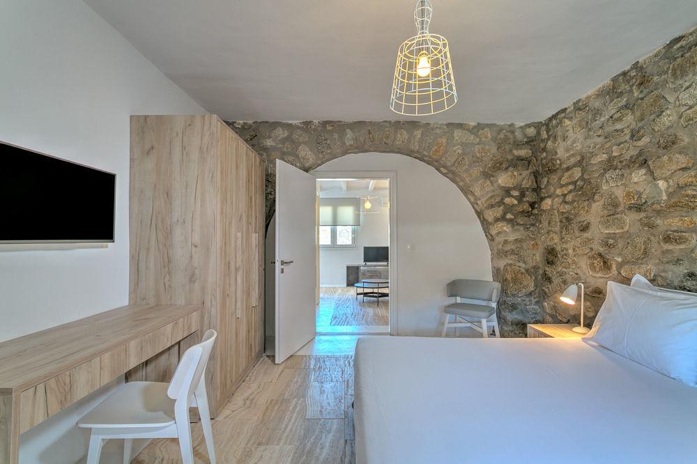 senses villas mykonos images