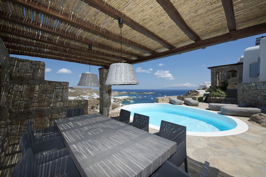 mykonos villas private pool