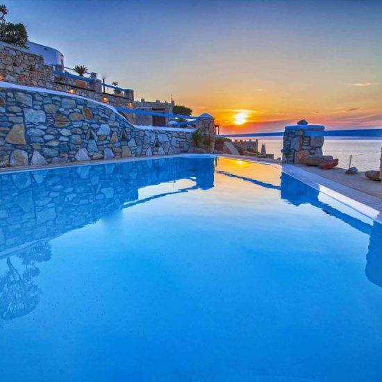 villas mykonos rent