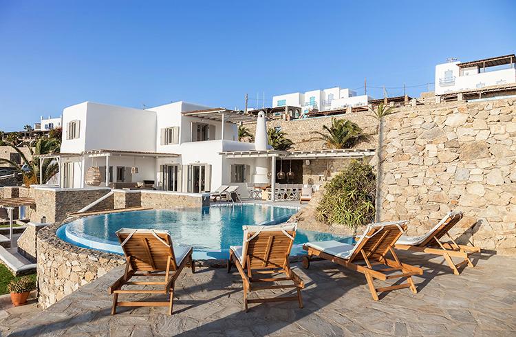 villa amorous mykonos images