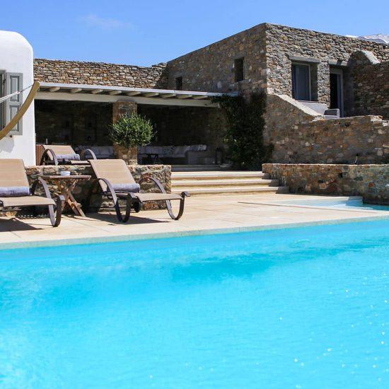 mykonos villas private pool
