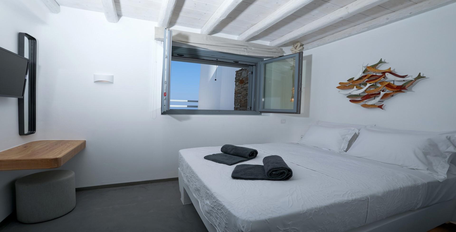 villa ilios bedroom