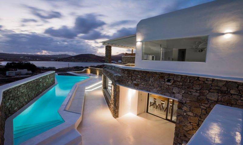 villa holidays mykonos