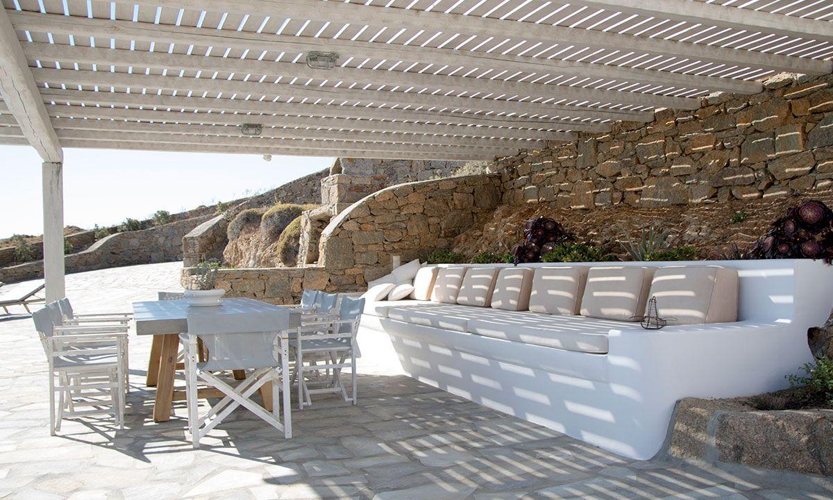 villa elise mykonos aghios sostis images