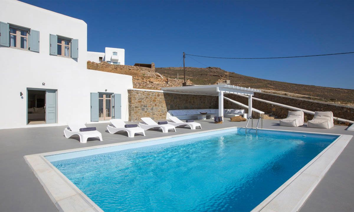 mykonos villa 4 bedrooms