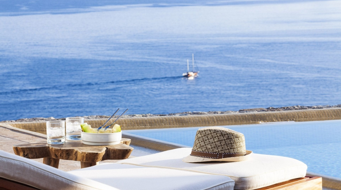 mykonos 2 bewdroom villas private pools