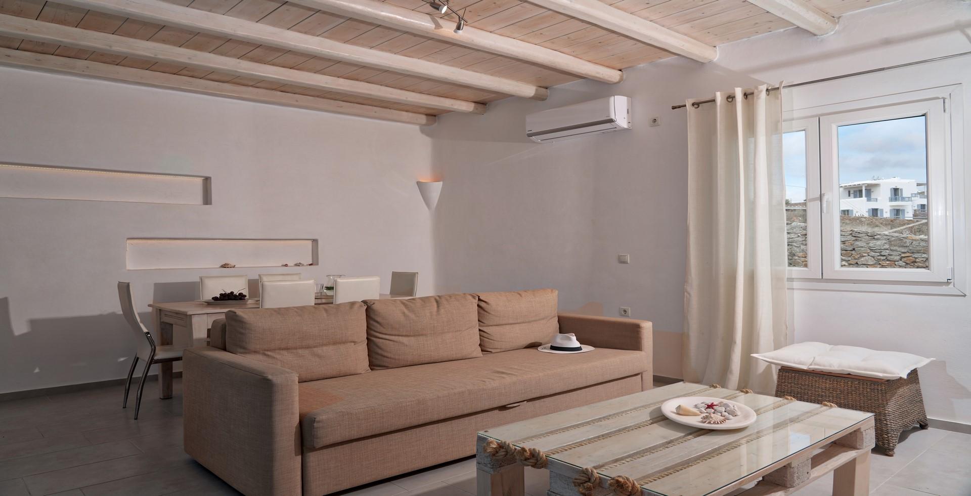 mykonos villas 1 bedroom private pool