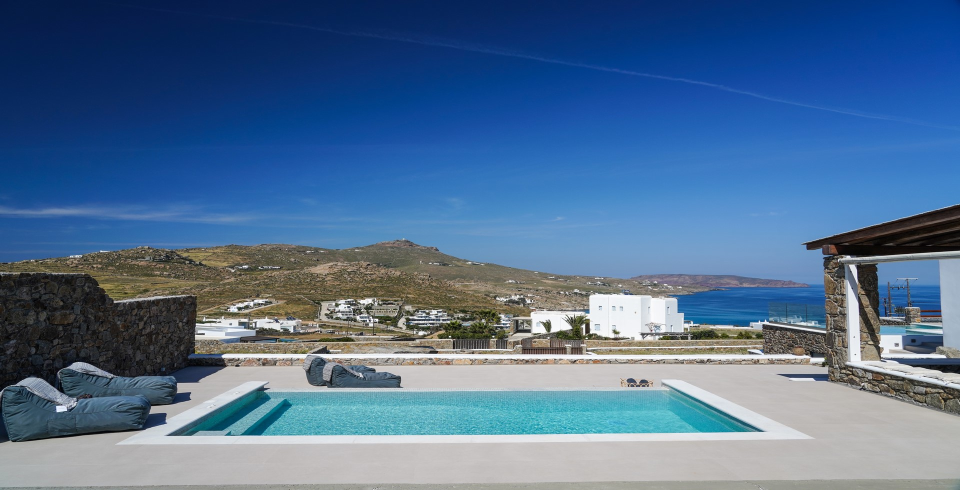 mykonos villas 1 bedroom private pool