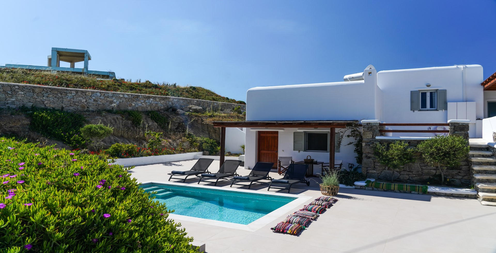 mykonos villa 1 bedroom