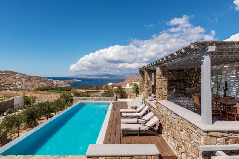 ornos beach villas