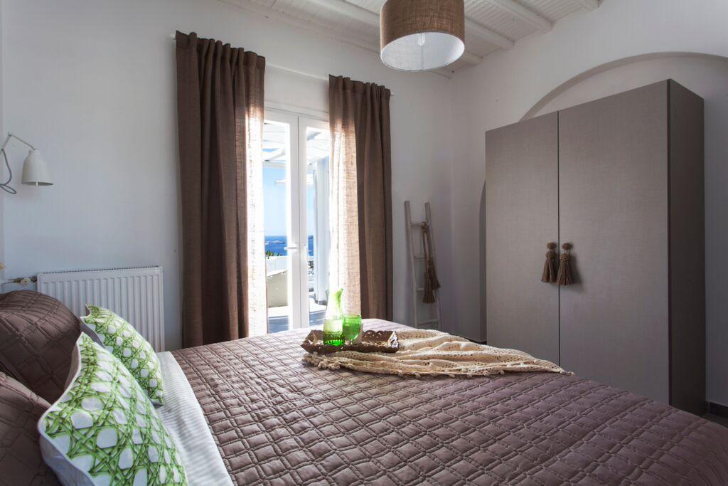 villa thallasi ornos bay bedroom