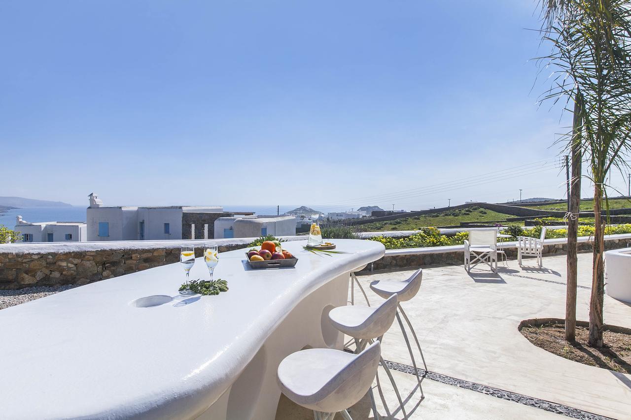 beach villas Mykonos kalafatis