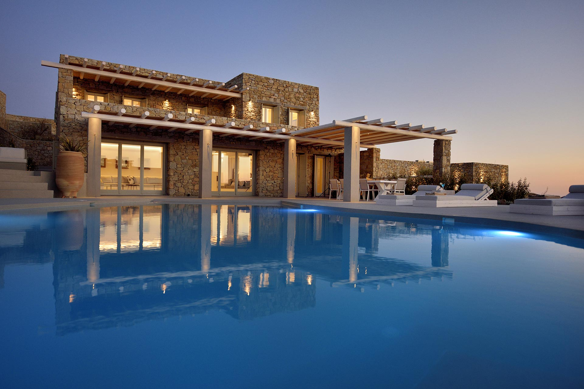 mykonos rocks villas