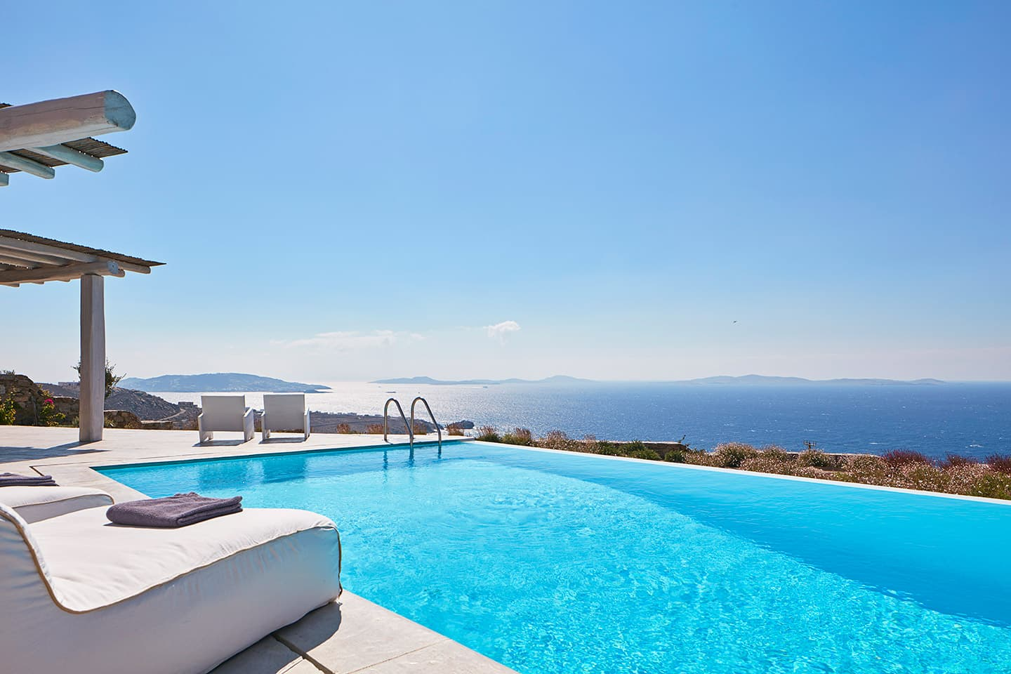 mykonos villas seaview