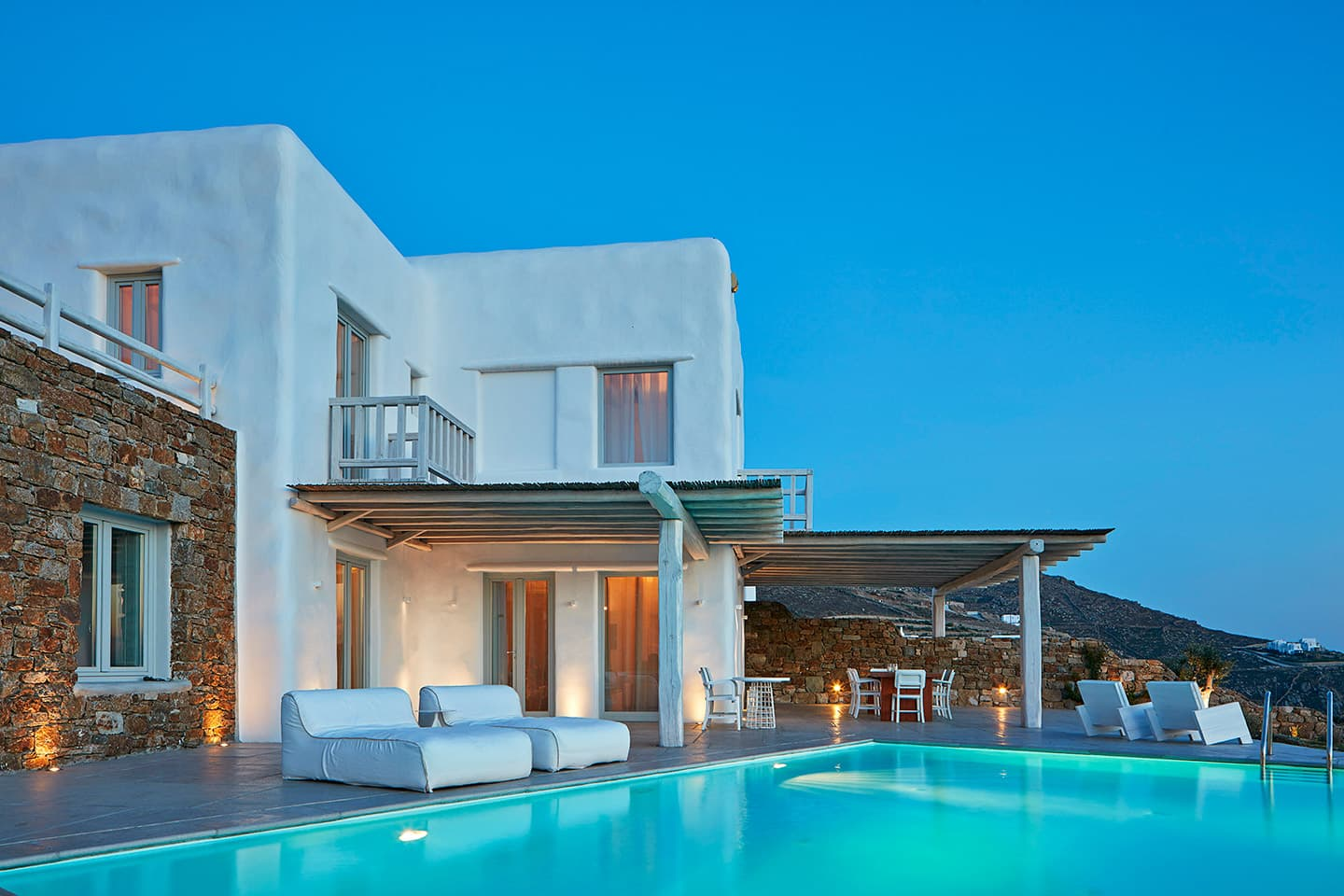 mykonos 4 bedroom villas