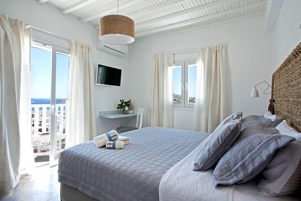 bedroom villa thallasi ornos bay