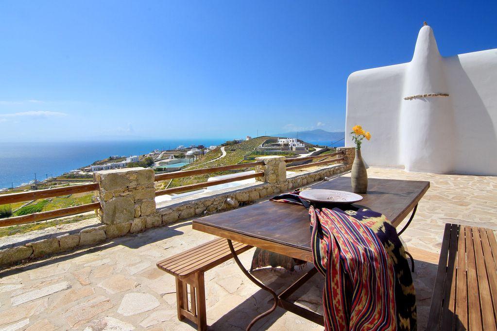 mykonos sea view villas