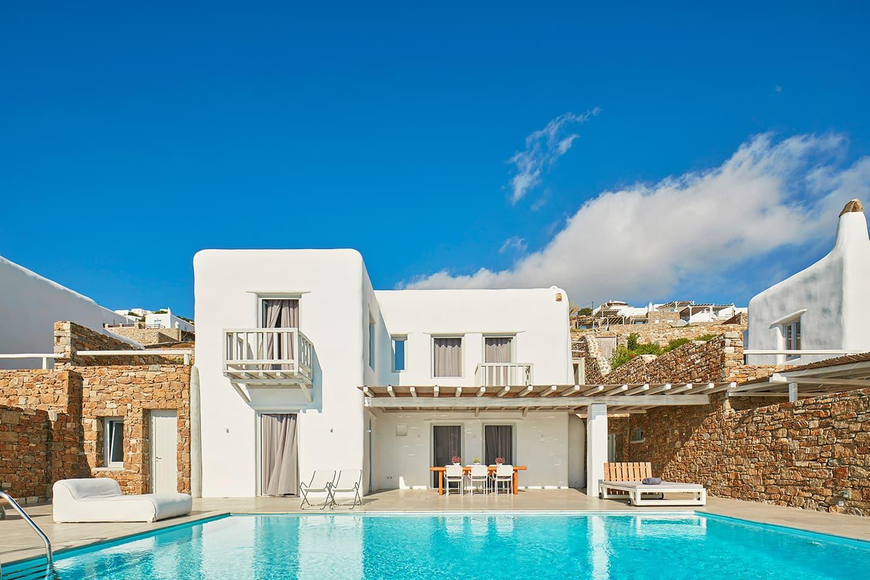 villa rentals mykonos greece
