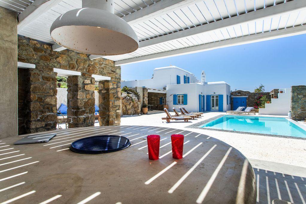 villa fresha ornos mykonos