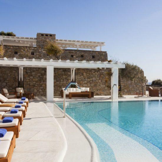 mykonos sea views villas