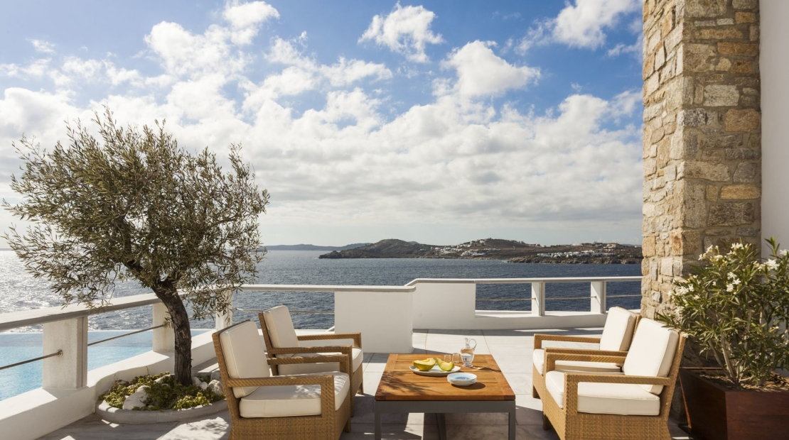mykonos sea views villas
