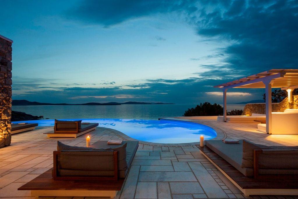 mykonos villa tramonto aleomandra