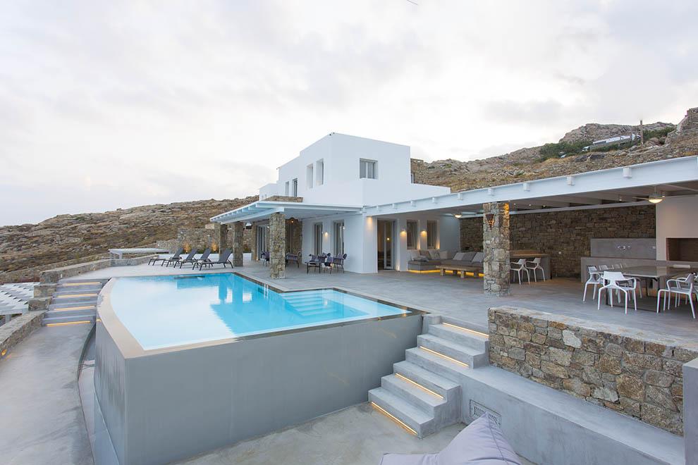 elia beach luxury villas