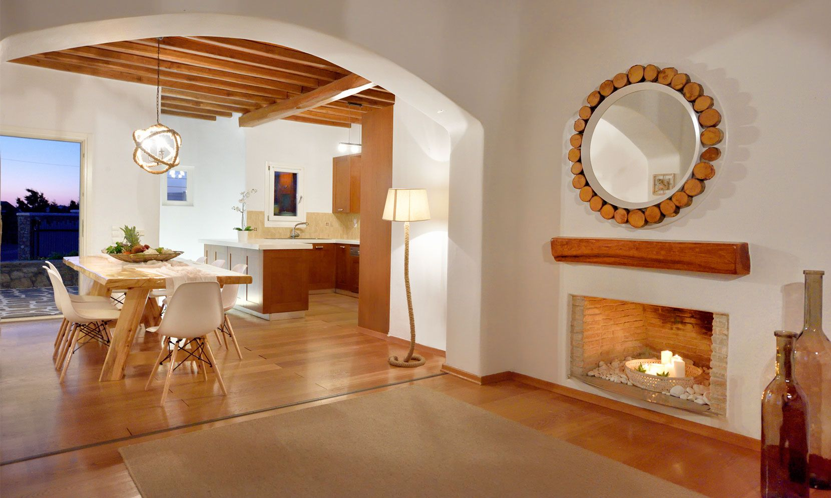 villa casa azul mykonos lounge