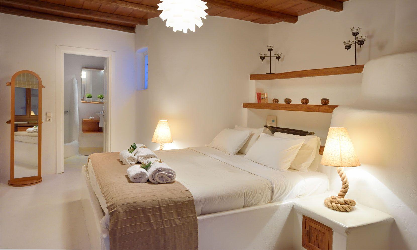 bedroom casa azul mykonos