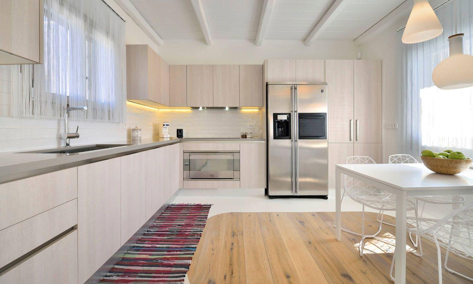 elia beach villas kitchen