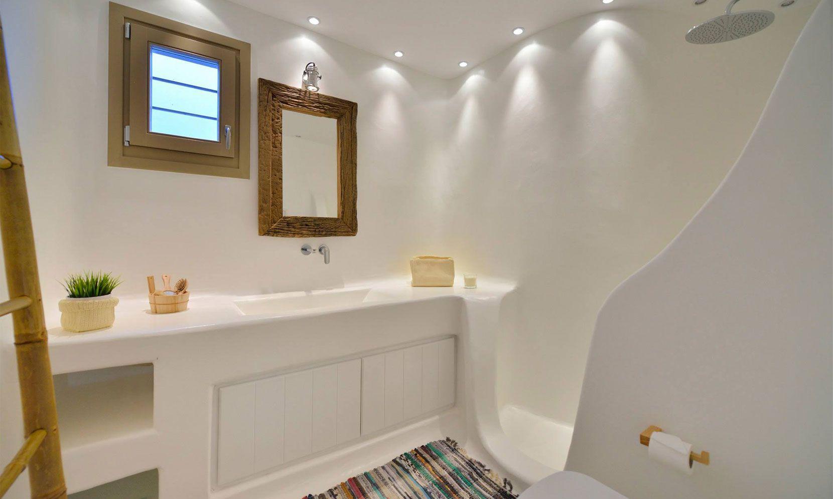 villa lucio mykonos shower