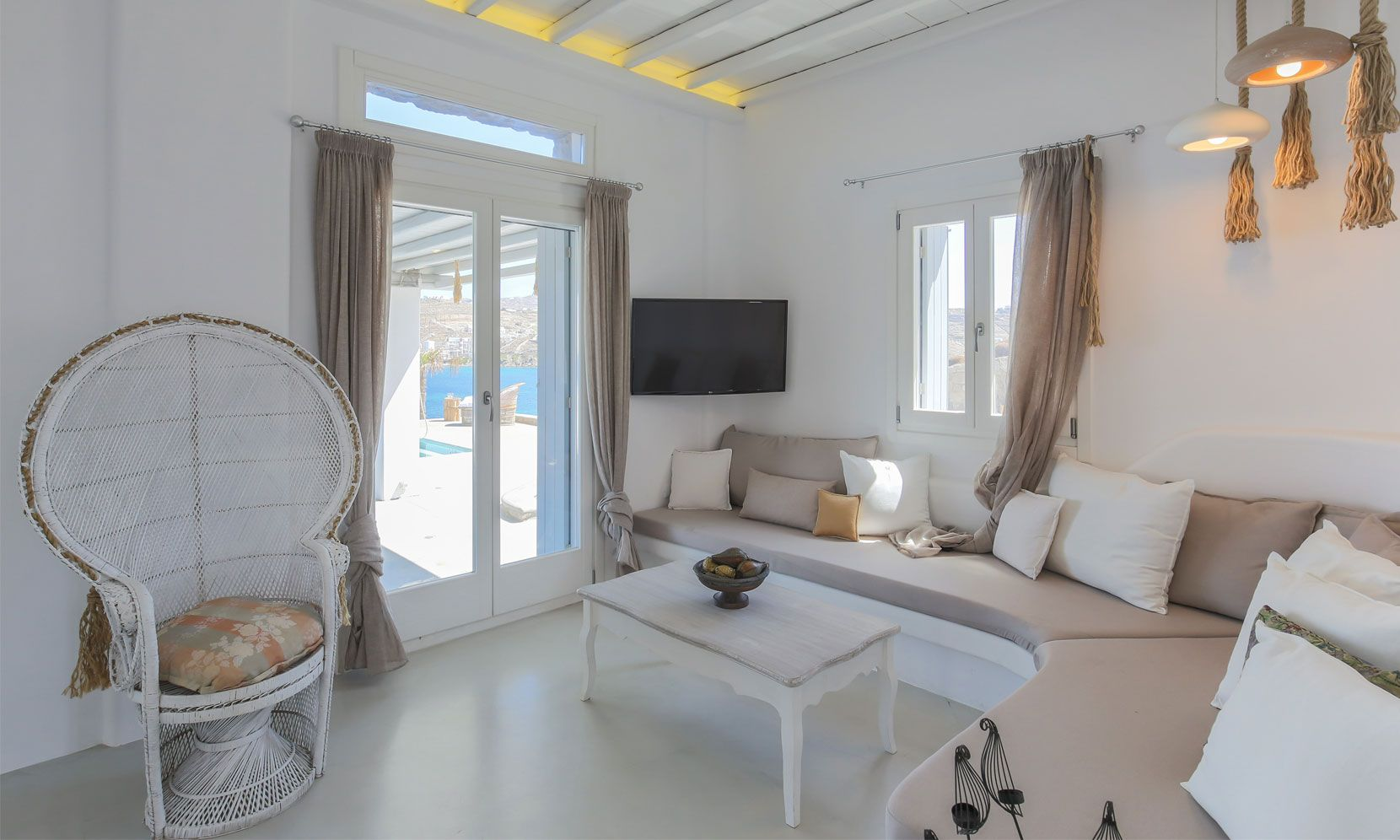 villa alissia mykonos lounge
