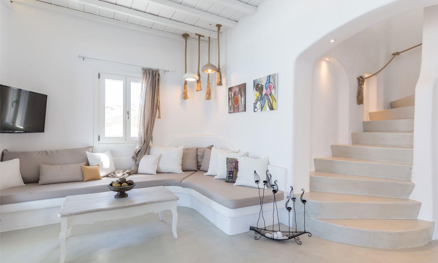 villa alissia mykonos interior