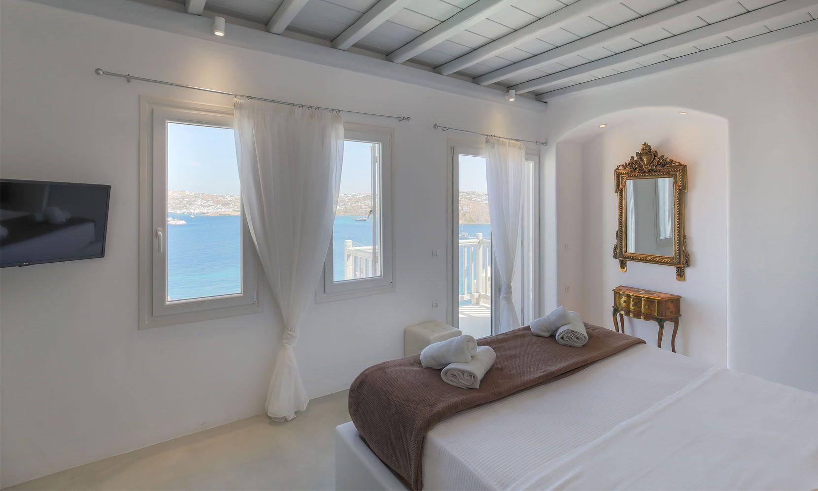 villa alissia mykonos rooms