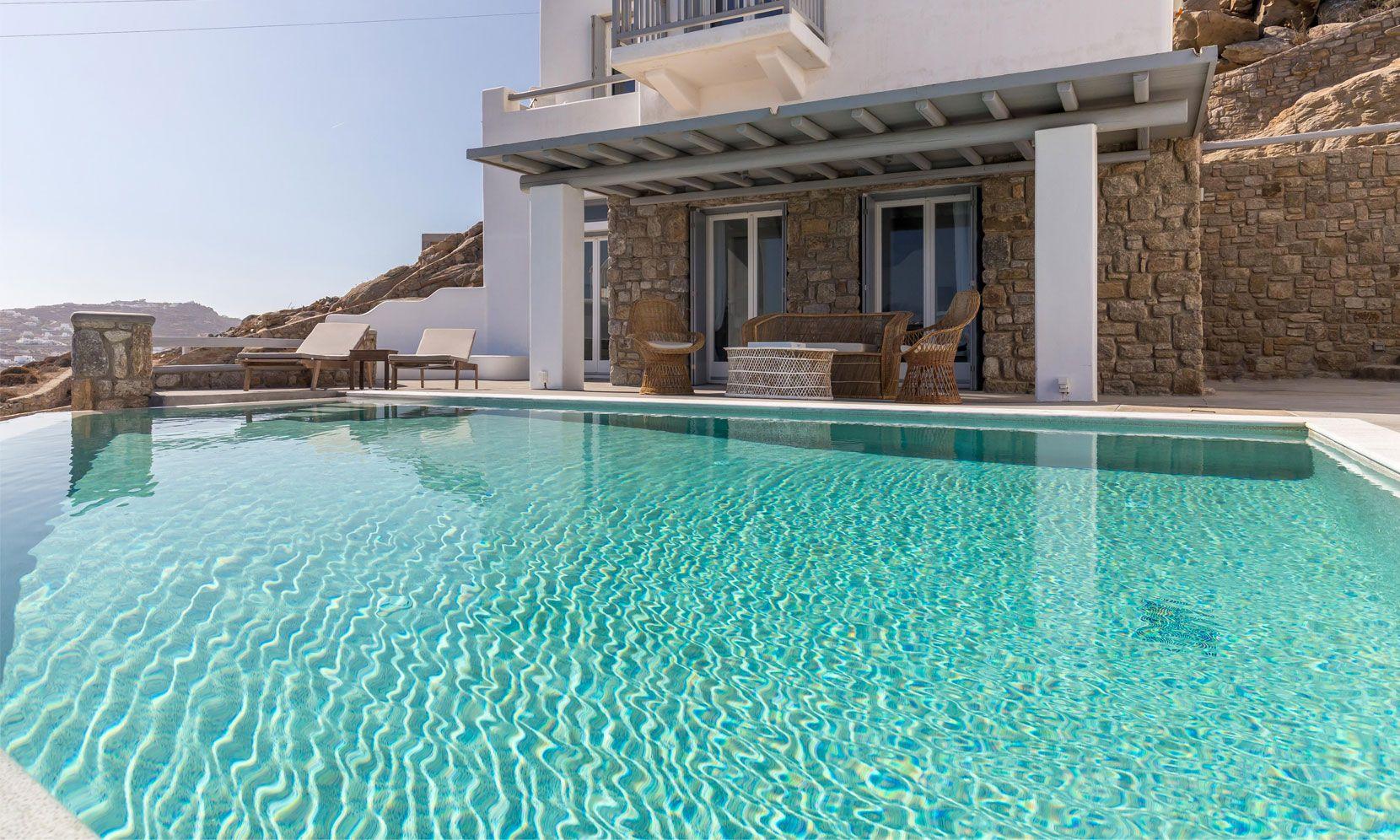 villa alissia pool