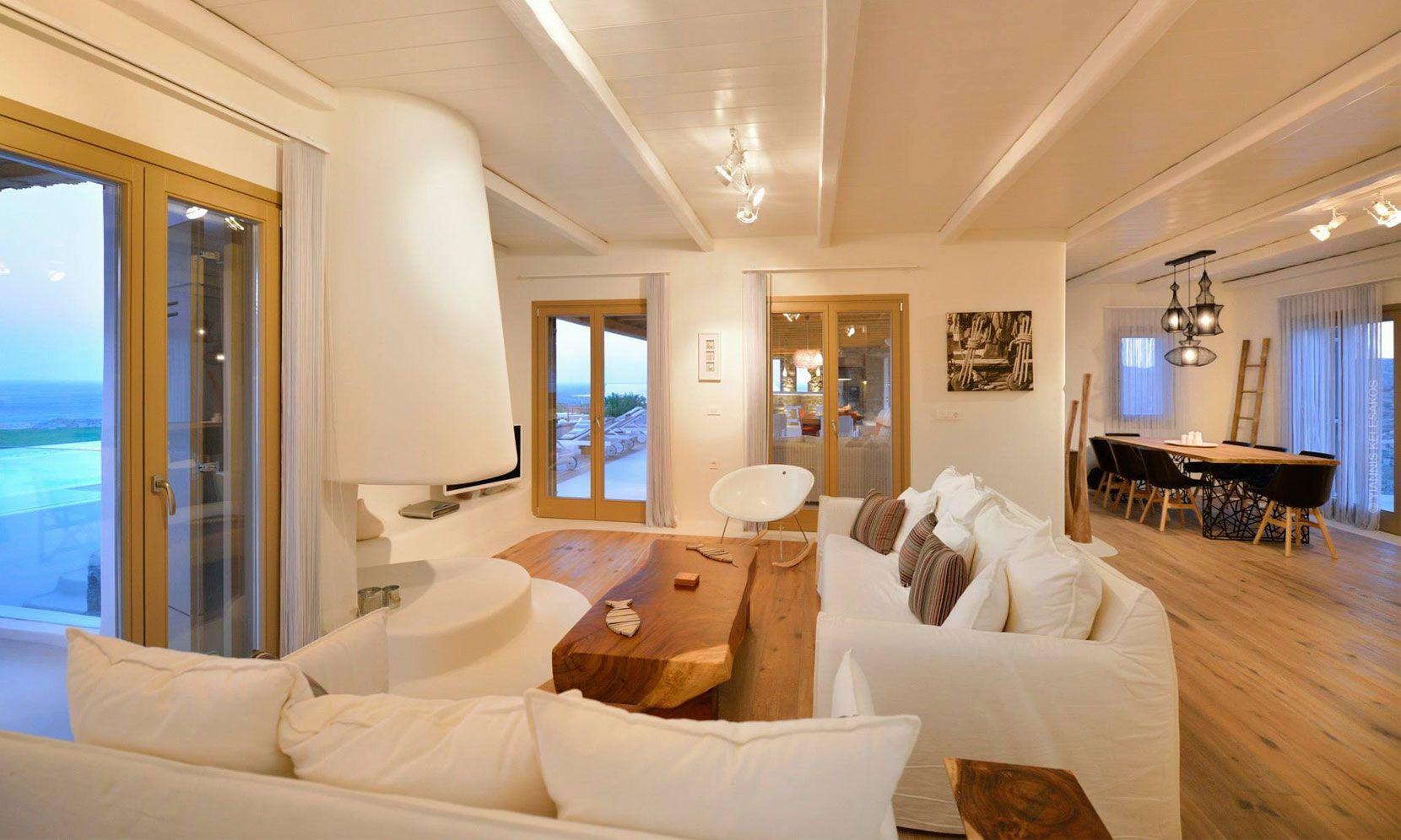 villa lucio mykonos lounge