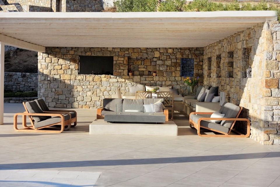 Villa Smarágdi Blue terrace