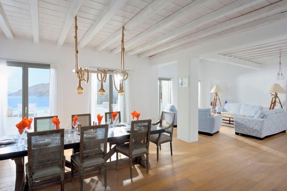 Villa Smarágdi Blue lounge