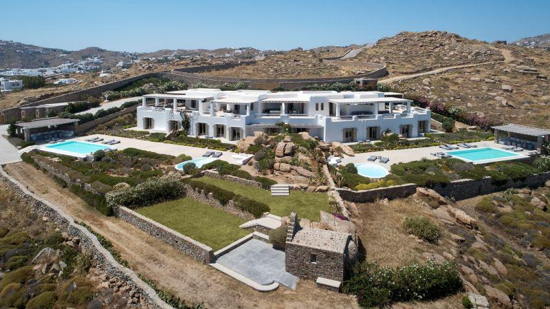 villa rentals paraga mykonos