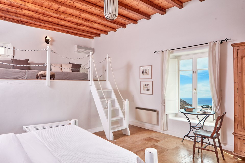agari view villa bedroom