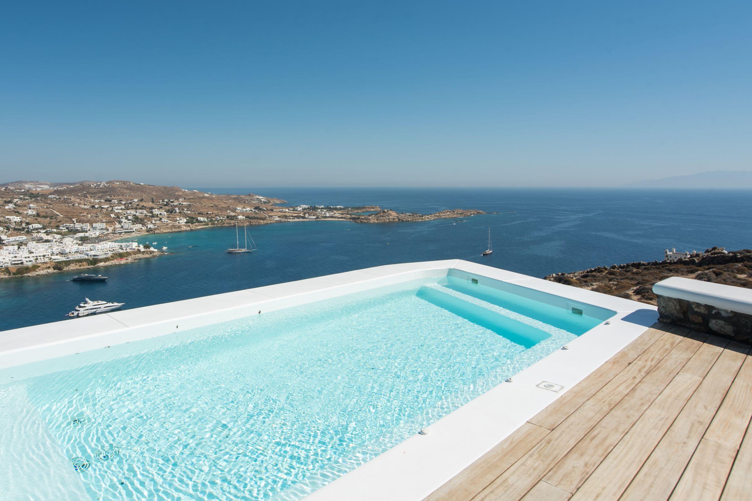 pool villa Castillo Cinque