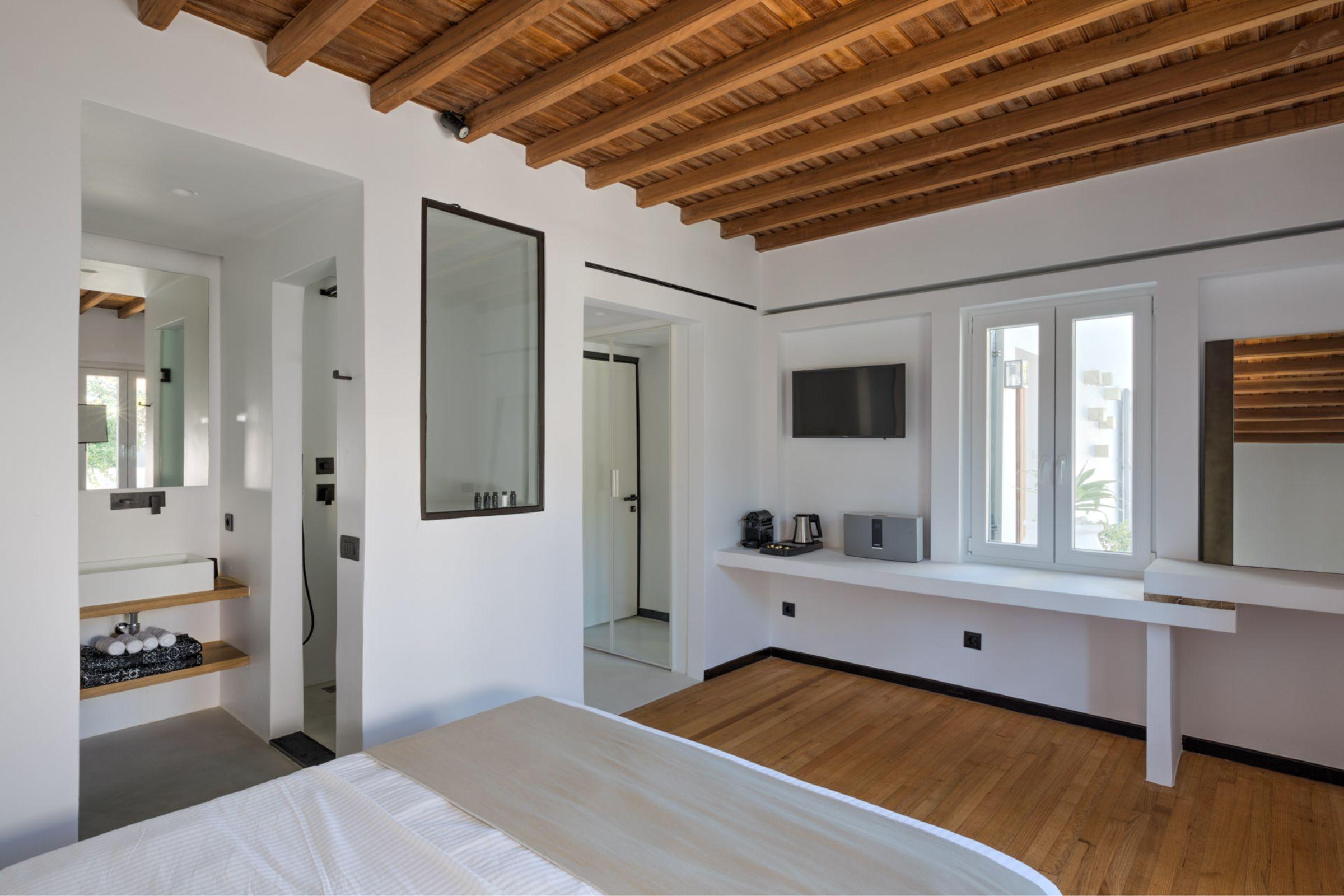 chora villa mykonos bedrooms