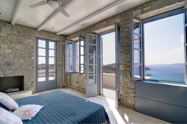 villa flavio agios ioannis bedroom