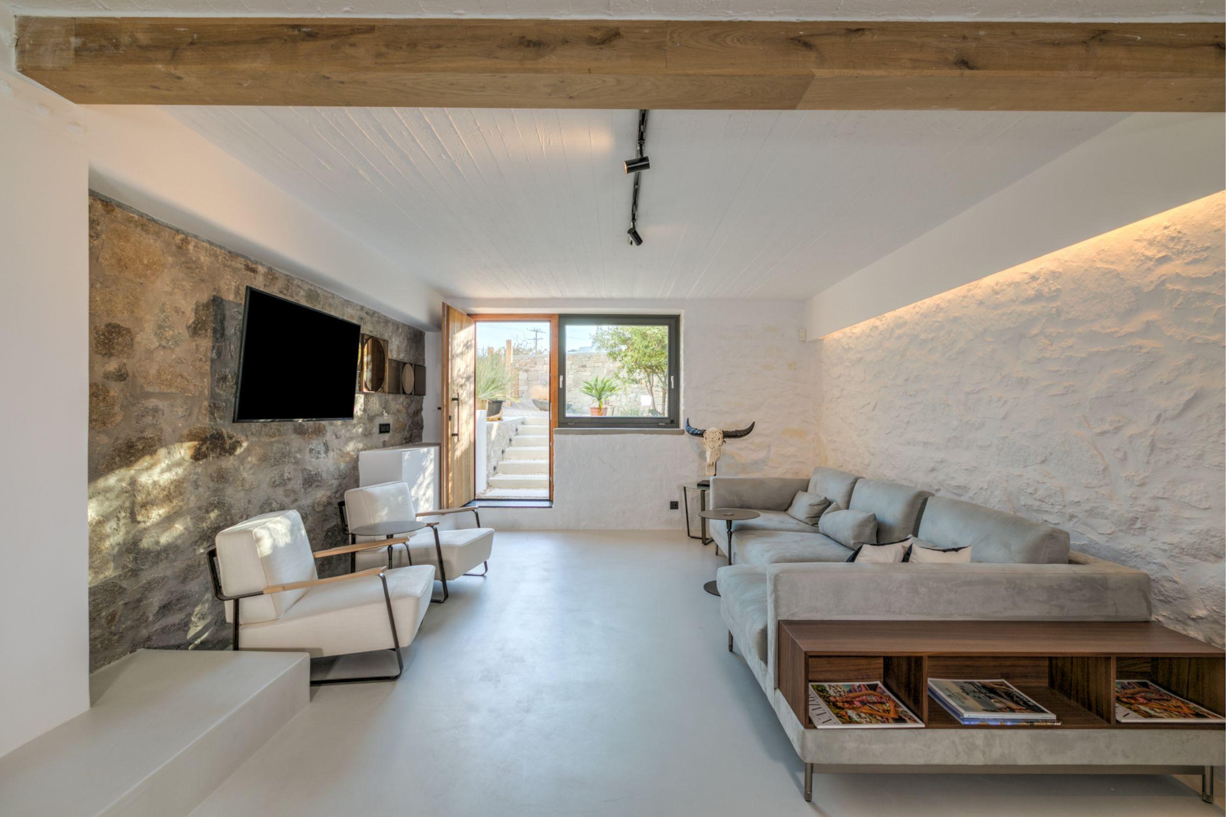chora villa mykonos lounge