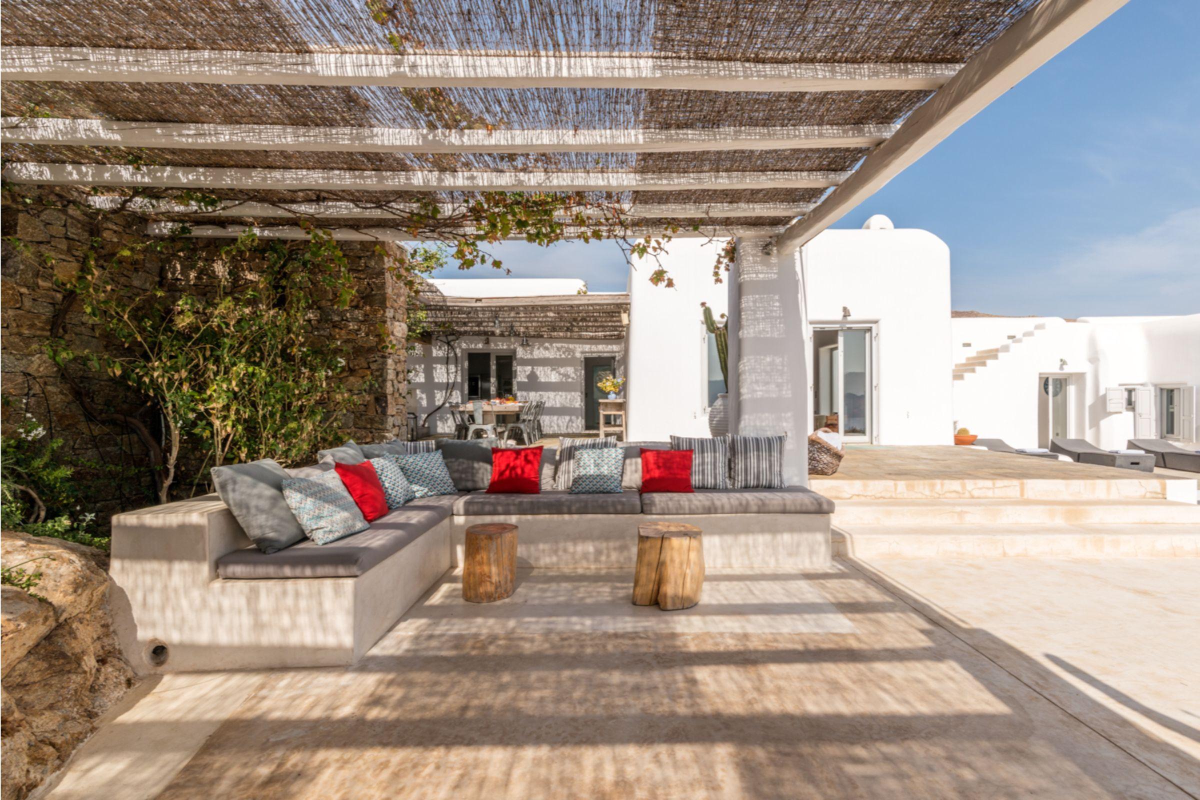 villa alva panormos bay terrace