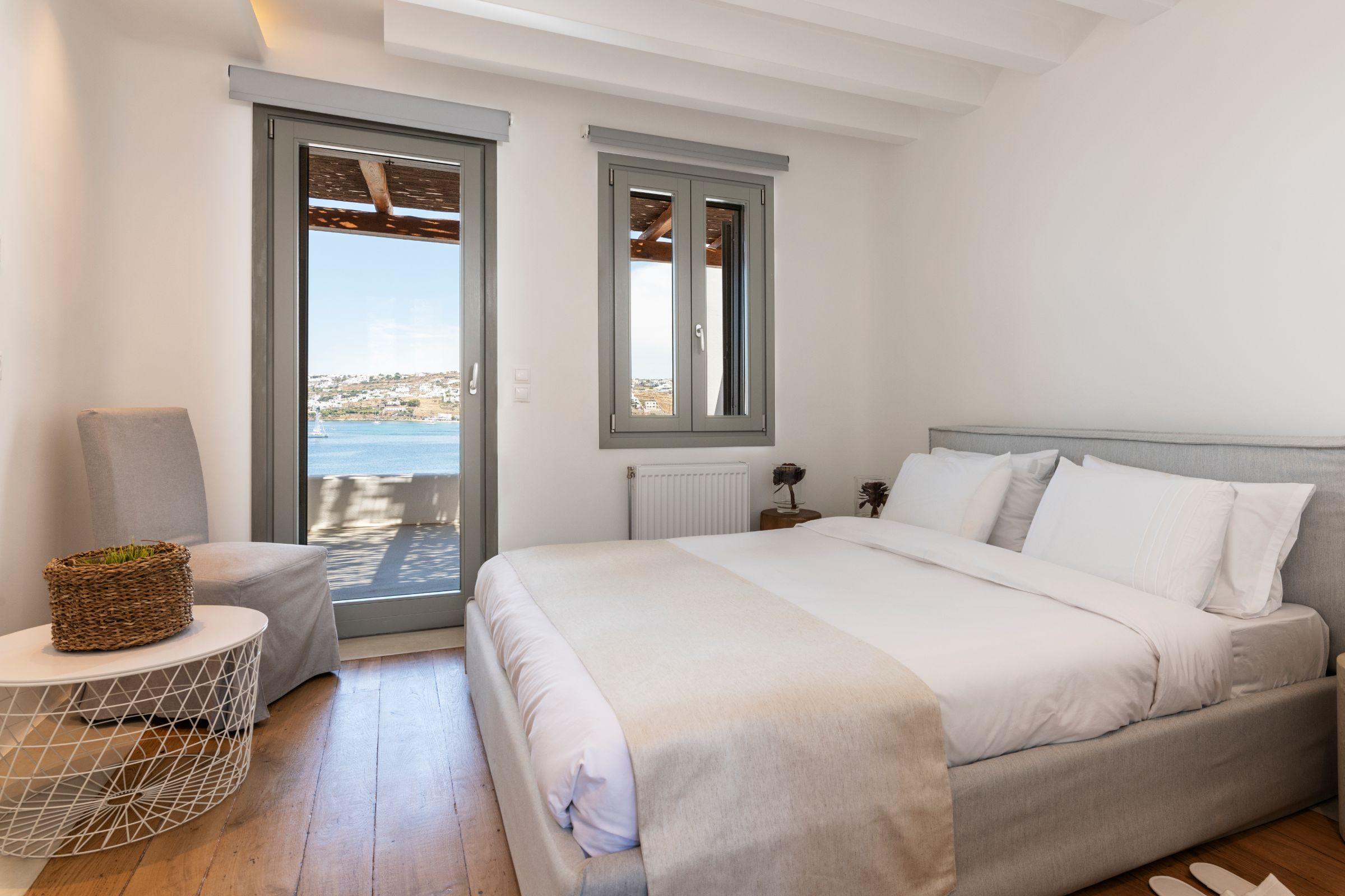 villa kastro 1 kanalia bedroom