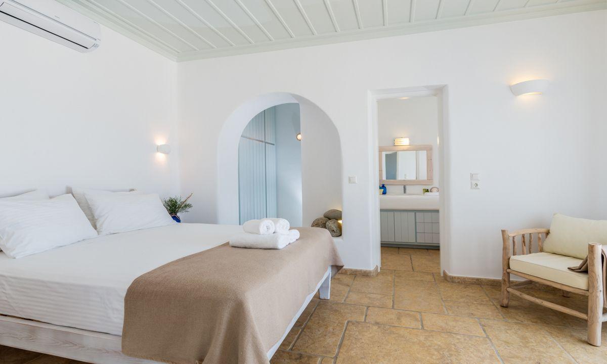 villa patra kanalia bedroom