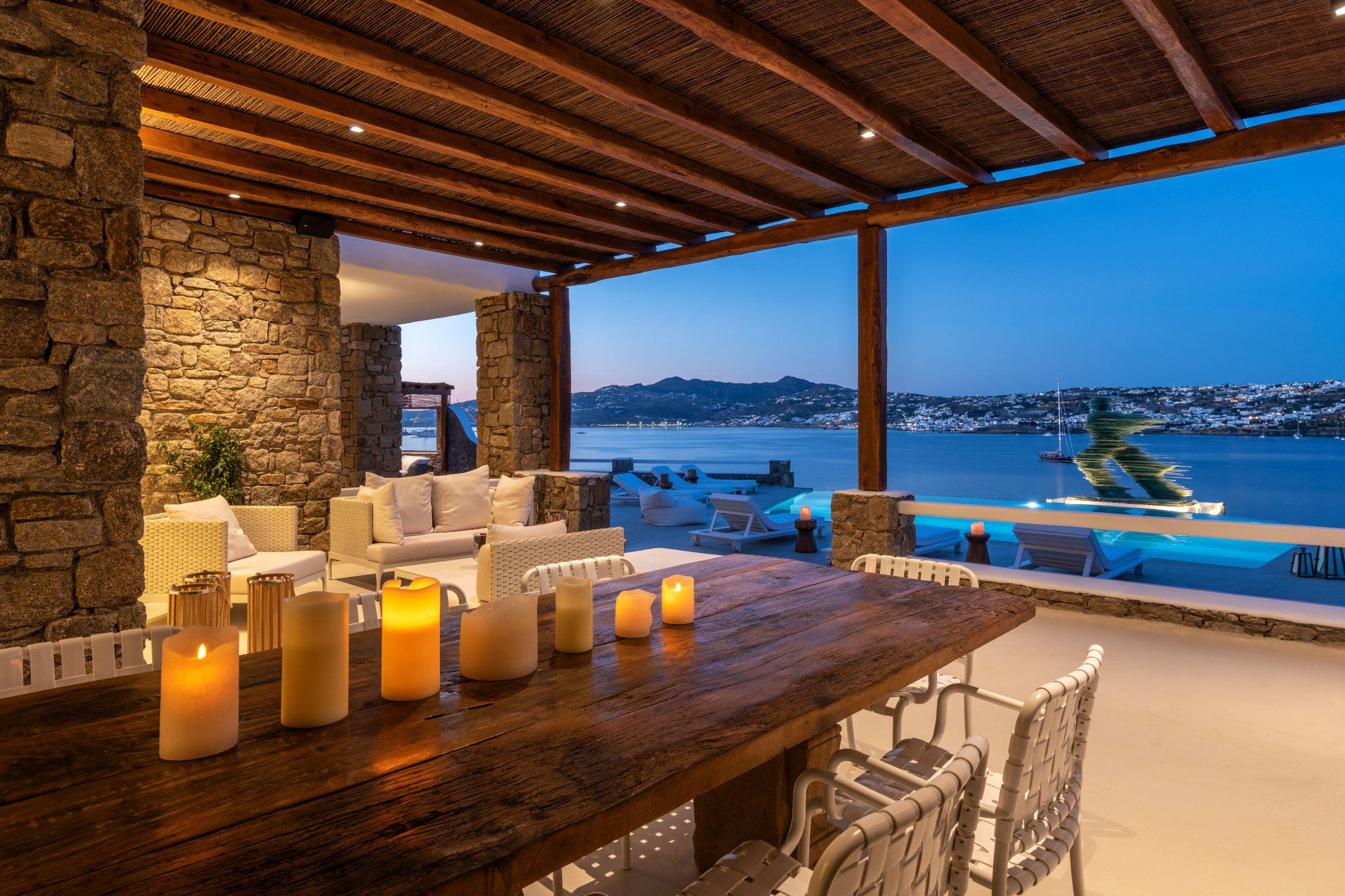 villa kastro 1 kanalia terrace